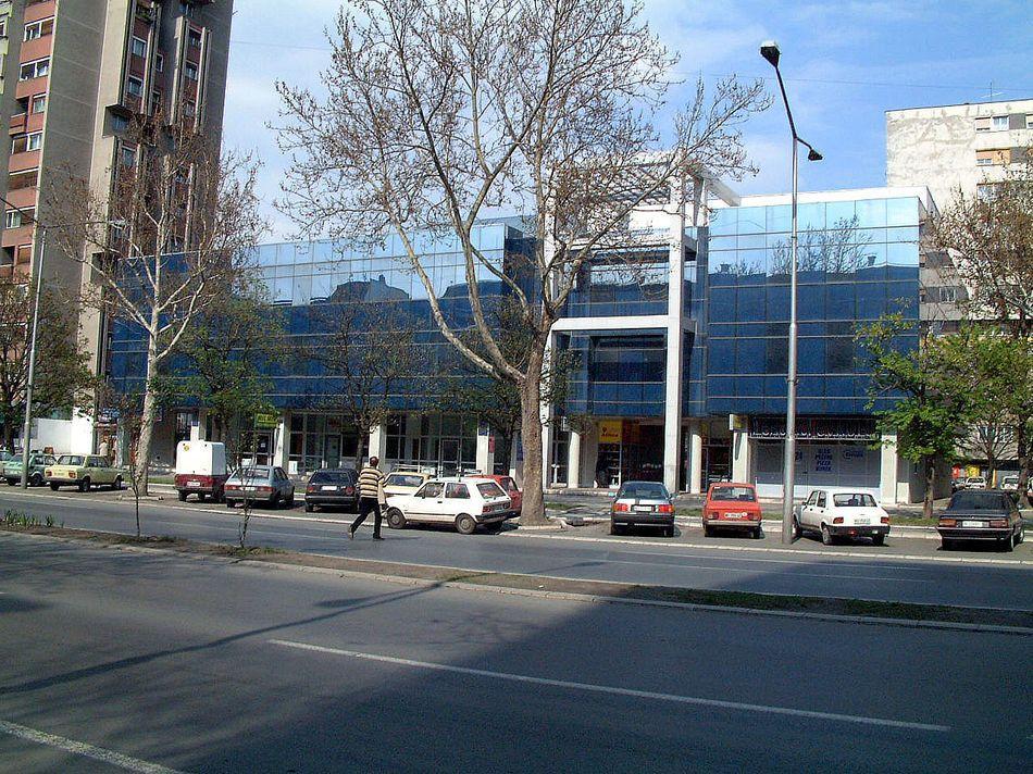 BULEVAR - Poslovni objekat Novi Sad - Fasada