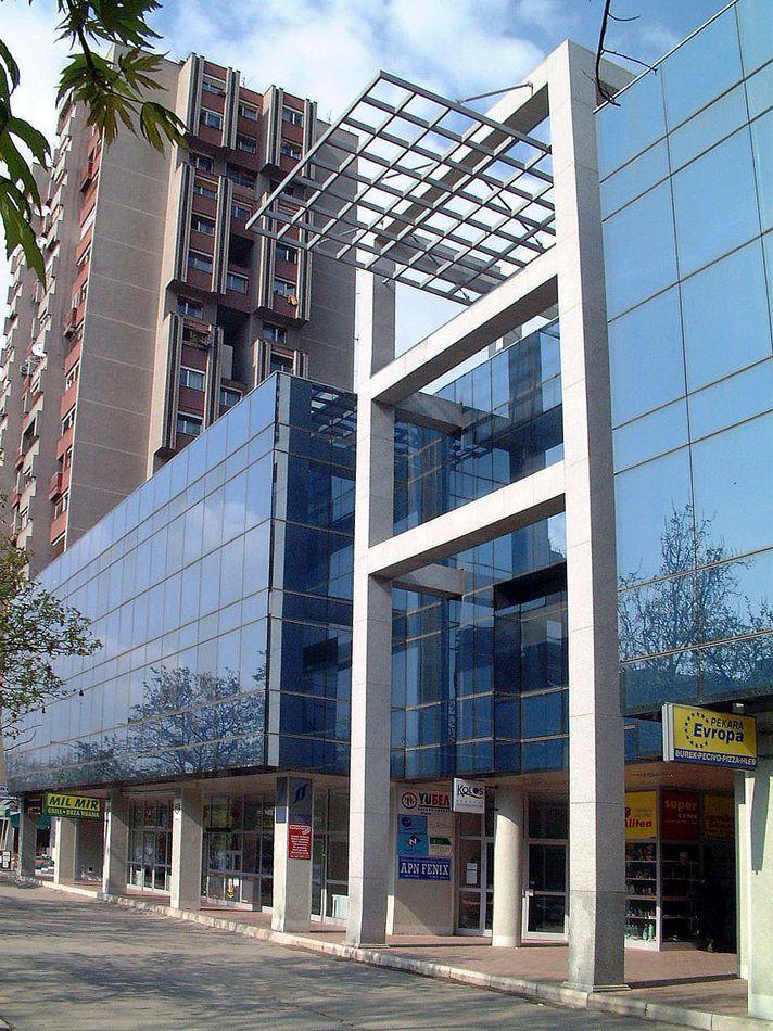 BULEVAR - Poslovni objekat Novi Sad - Fasada 1