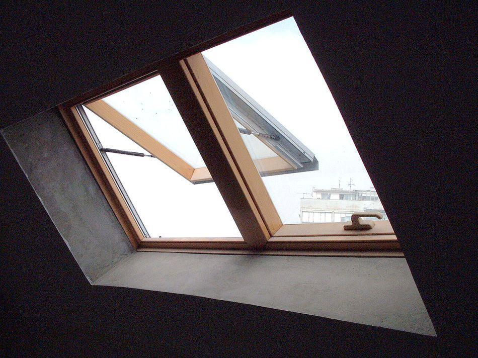 GOLF Beograd - Stambeni Objekat - Krovni prozor, iznutra