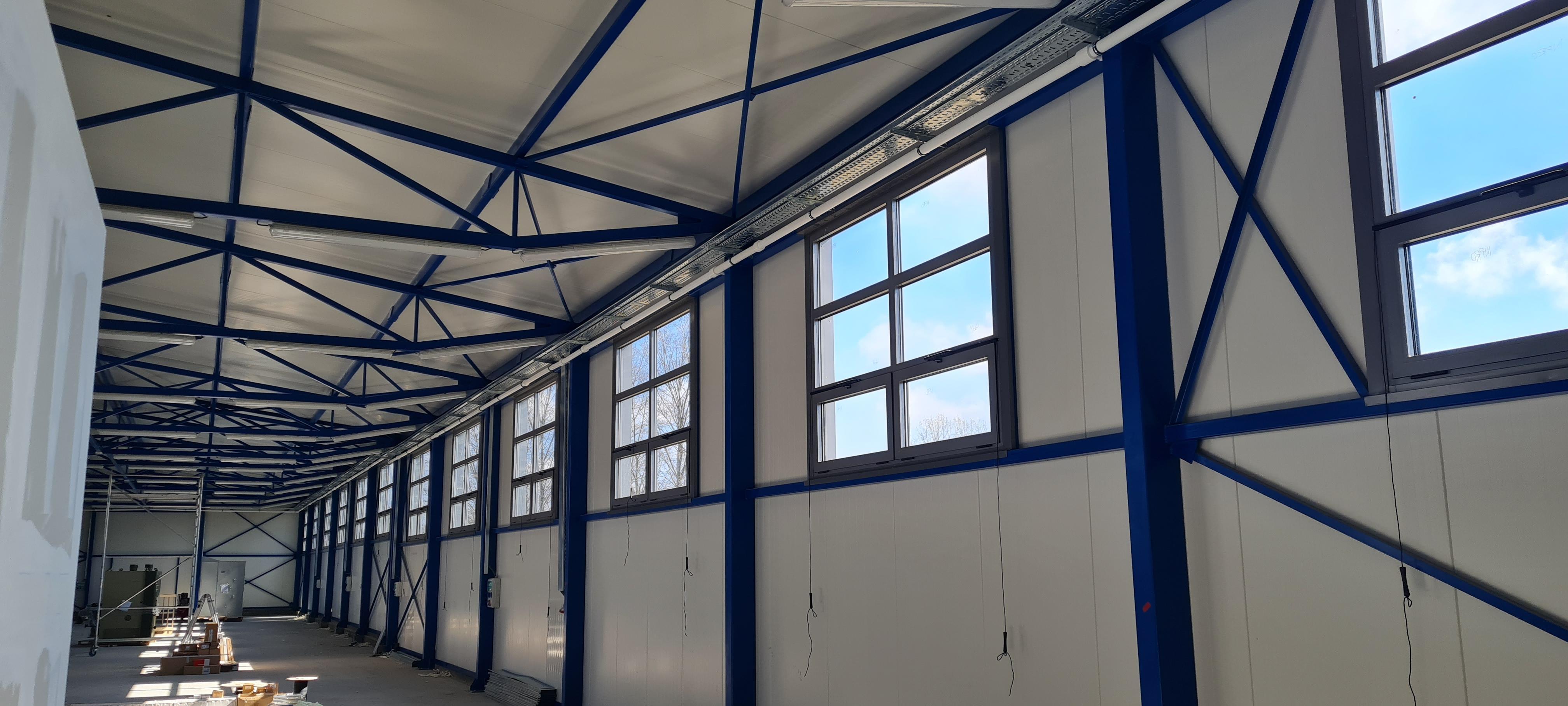 GRP Centar - Proizvodna hala - PVC prozori - Unutrašnji izgled