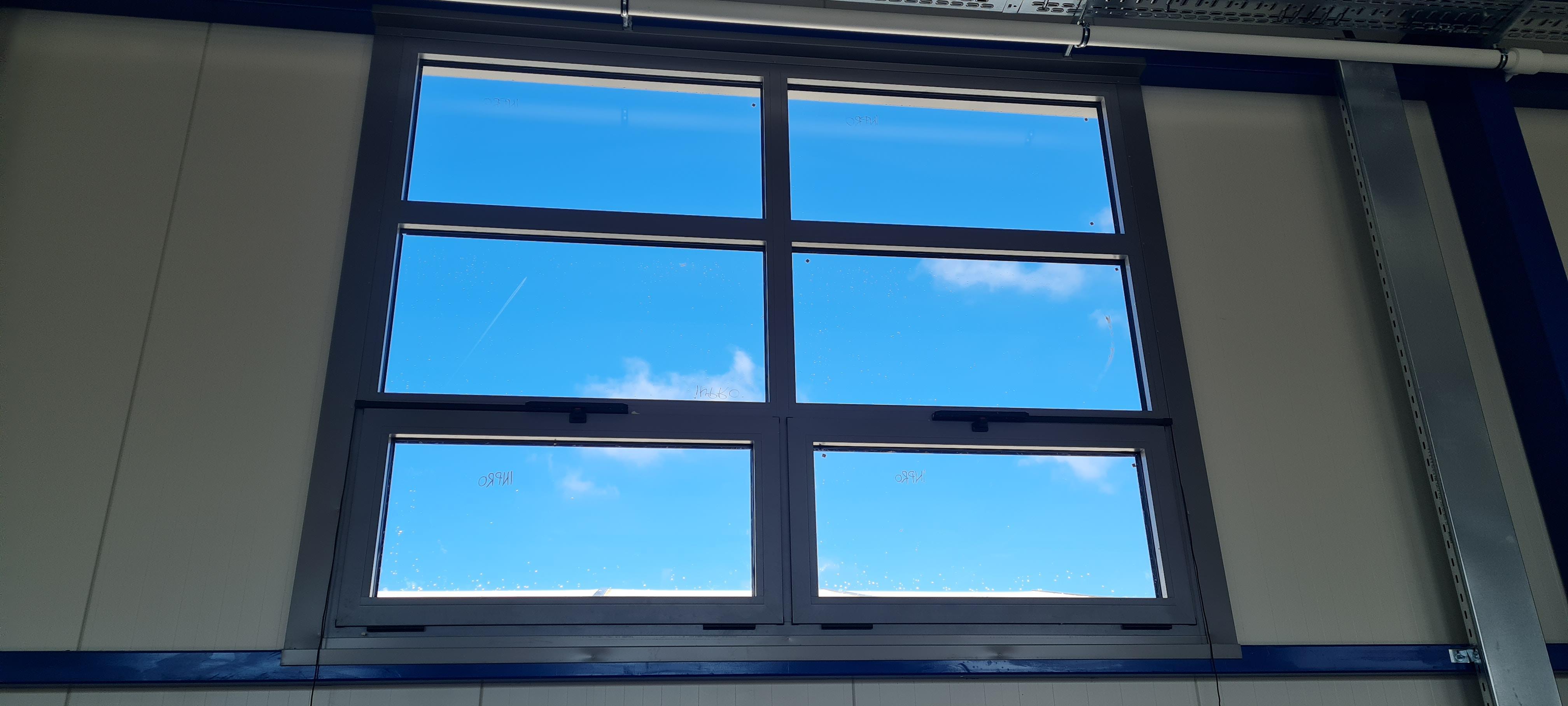 GRP Centar - Proizvodna hala - PVC prozor - Unutrašnji izgled