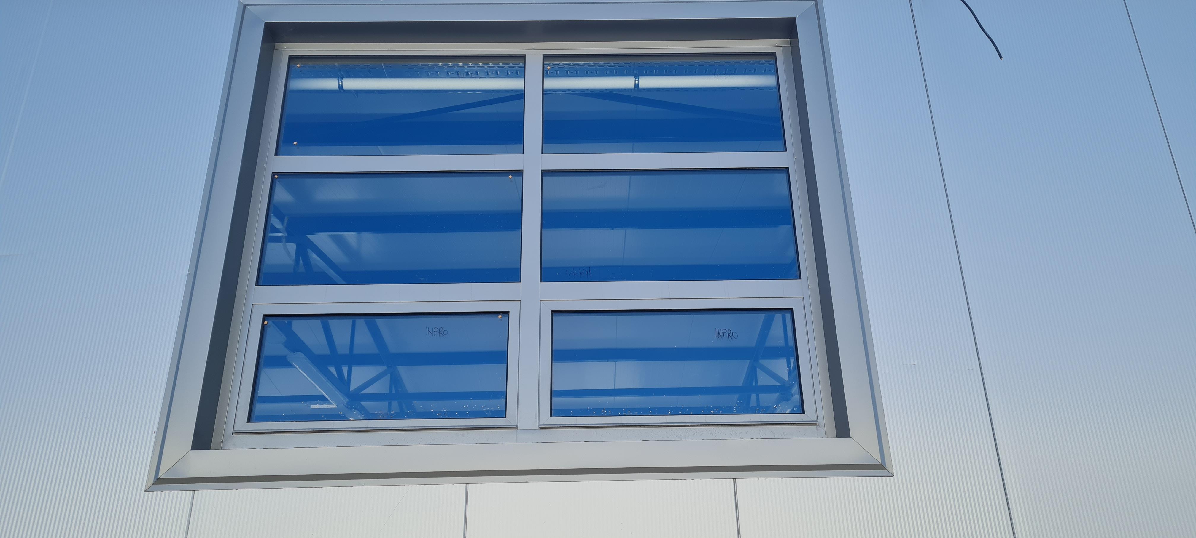 GRP Centar - Proizvodna hala - Spoljašnji izgled PVC prozora