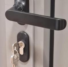 GRP Centar - Proizvodna hala - PVC vrata - Brava - Zumiran element