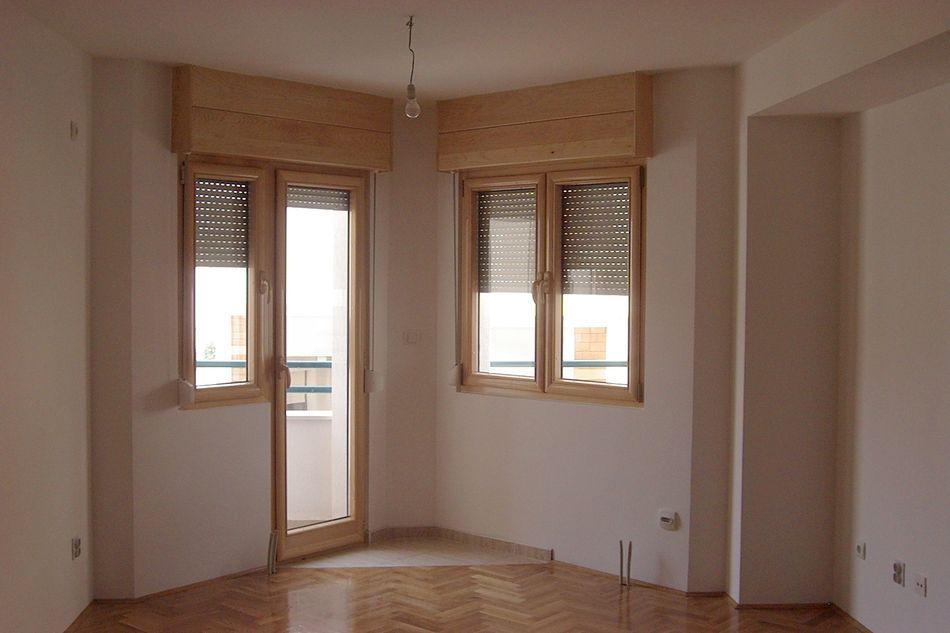 Stambena zgrada Niksic - Prozori drvo-aluminum sa al. rol 1